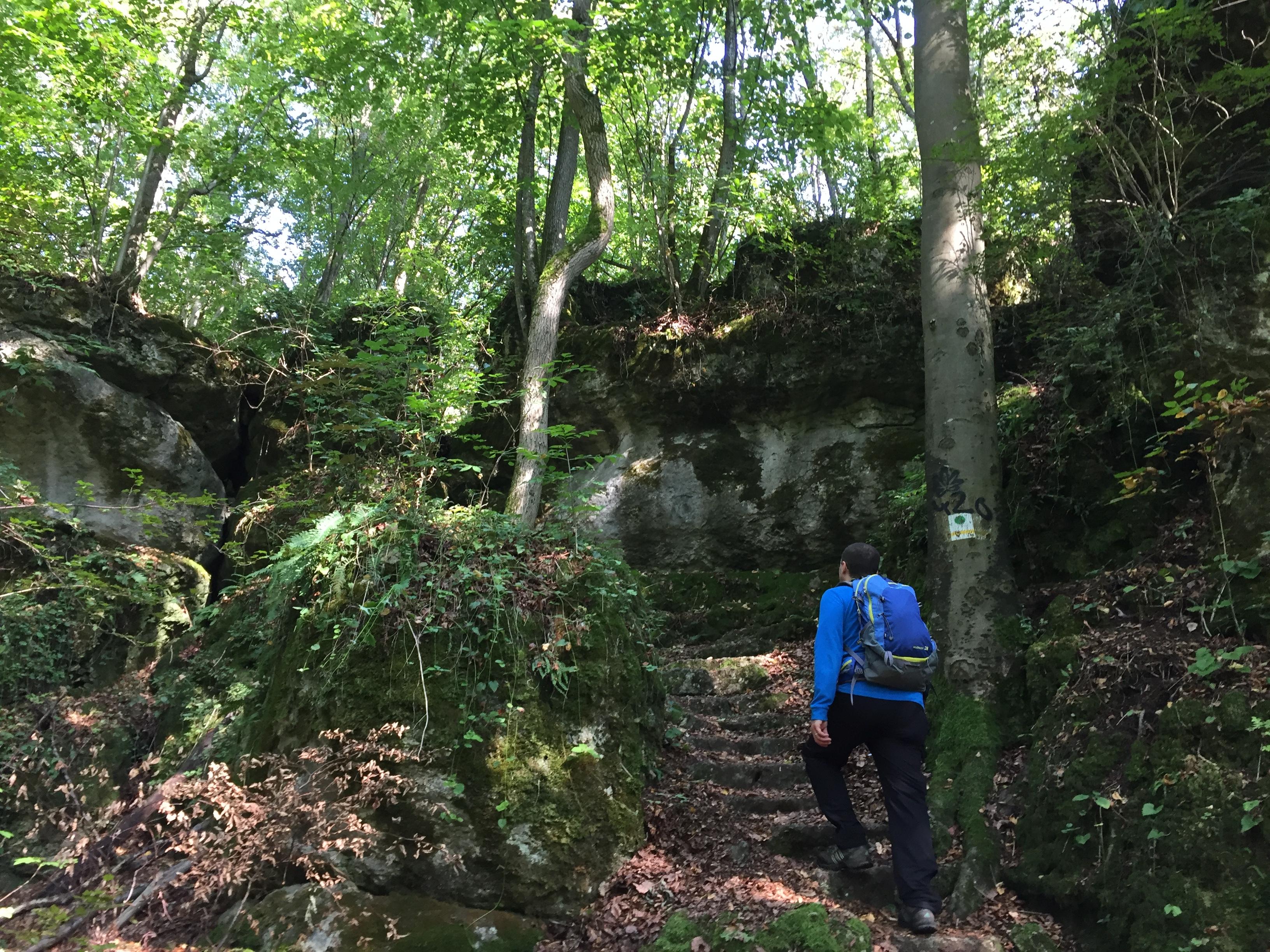 Wandern Franken Hotel zum alten Schloss Kleedorf